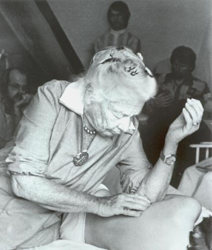 Ida Rolf créatrice du Rolfing